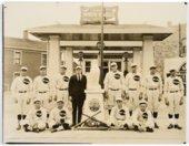 White Eagle baseball team in Topeka, Kansas