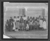 African American school, Nicodemus, Kansas