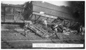 Train wreck at Alta Vista, Kansas