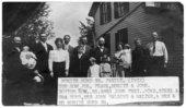 Moritz Hund Sr. family in Paxico, Kansas