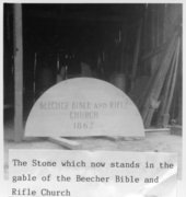 Beecher Bible and Rifle Church, Wabaunsee, Kansas