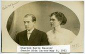 Charles Earle Bassler and Jennie Alda Carter