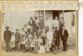Students in Paxico, Kansas