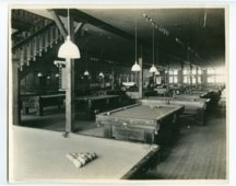 Pool hall in Army City, Kansas