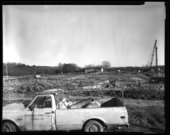 Museum construction scene, Topeka, Kansas