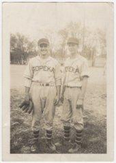 Howard Pool and Woody Bulkley in Topeka, Kansas