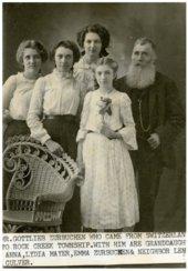 Zurbuchen family in Wabaunsee County, Kansas