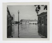 1951 flood scenes in Manhattan, Kansas