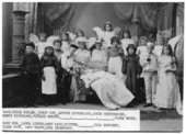 School children dressed in costume, Alma, Kansas