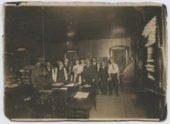Atchison, Topeka & Santa Fe Railway freight office in Atchison, Kansas