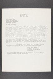 Robert Taft correspondence related to frontier artists, Waud - Zogbaum