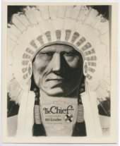 Atchison, Topeka & Santa Fe Railway Company's advertisement