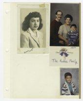 Virginia Mendoza family photograph album