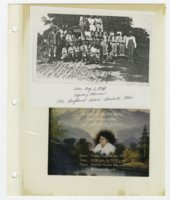 Virginia Mendoza family photograph album
