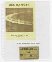 Robert Gomez military scrapbook