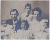 August and Edith Morawetz with their family