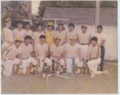 Los Santos baseball team in Topeka, Kansas.