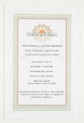 Mana de Topeka, the 10th Annual Latina Awards in Topeka, Kansas