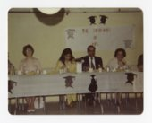 Our Lady of Guadalupe School graduation meal in Topeka, Kansas