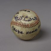 Gil Carter home run baseball