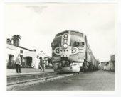 Atchison, Topeka & Santa Fe Railway Company depot, Pasadena, California