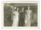 Elenore Marhenke, Norma Daniels and Maxine Elliott