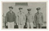 U.S. Navy officers at Portland, England