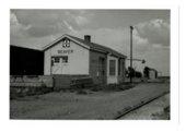 Atchison, Topeka & Santa Fe Railway Company depot, Beaver, Kansas