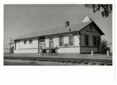 Atchison, Topeka & Santa Fe Railway Company depot, Miltonvale, Kansas