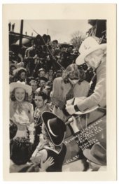 "World premier of the ""Dodge City"" movie in Dodge City, Kansas"