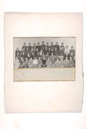Graduating classes at Boswell Junior High School in Topeka, Kansas
