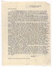 Marion and Pauline Beatty Correspondence
