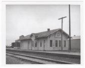 Atchison, Topeka & Santa Fe Railway Company depot, Cassoday, Kansas