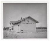 Atchison, Topeka and Santa Fe Railway Company depot, Cottonwood Falls, Kansas