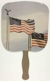 Hand fan for Joan Finney & Jim Francisco campaign