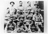 Nicodemus Blues baseball team in Nicodemus, Kansas
