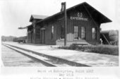 Atchison, Topeka and Santa Fe Railway Company depot, Enterprise, Kansas