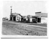 Street scene, Tribune, Greeley County, Kansas