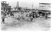 Fourth of July parade, 1908, Tribune, Greeley County, Kansas