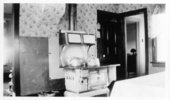 Kitchen stove, Tribune, Greeley County, Kansas