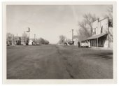 View of Main Street, Horace, Greeley County, Kansas