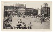 Atchison, Topeka & Santa Fe Railway parade in Topeka, Kansas