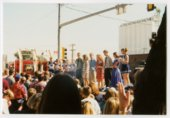 Homecoming parade in Cimarron, Kansas