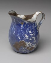 Enamelware Pitcher from the Thomas Johnson/Henry Williams Dugout Site, 14GH102