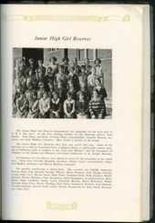 Mount Marty yearbook, 1925, Rosedale, Kansas