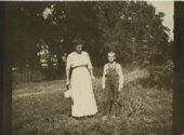 Emma and Victor Palenske at Alma, Kansas
