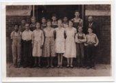 Lecompton Grade School, 1933, Lecompton, Kansas