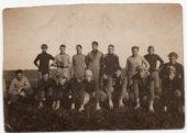 Lecompton Rural High School Football Team, Lecompton, Kansas