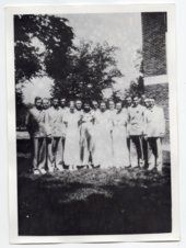 1936 Lecompton Rural High School Graduates, Lecompton, Kansas