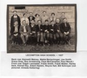 Lecompton High School, Class of 1927, Lecompton, Kansas